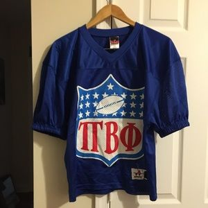 Tops - Pi Beta Phi Jersey - football branded